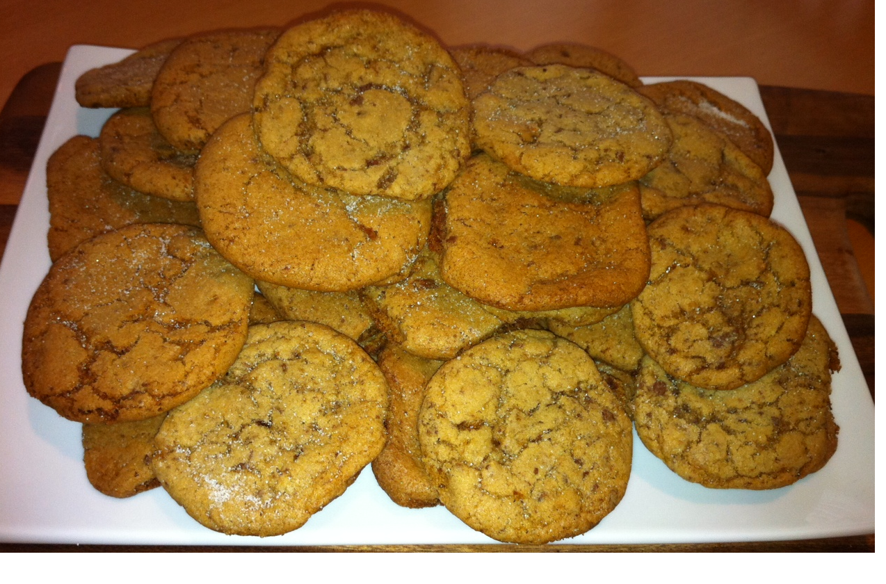 English toffee cookie recipes